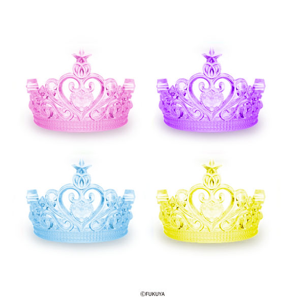 ACRYLIC DIAMOND CUT TIARA BIG