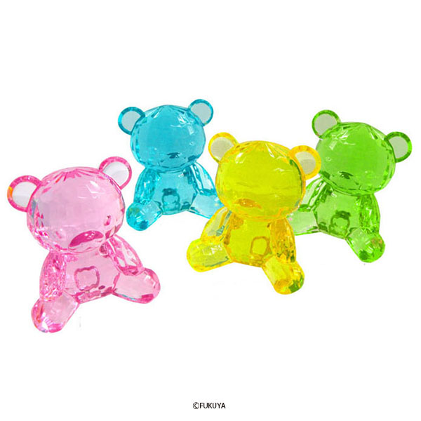 ACRYLIC DIAMOND CUT BEAR MEGA BIG