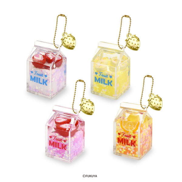 Fruit Milk Oil Charm